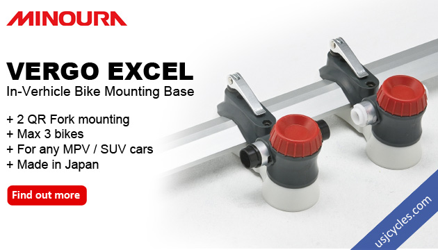 Minoura Vergo Excel - In verhicle bike mounting