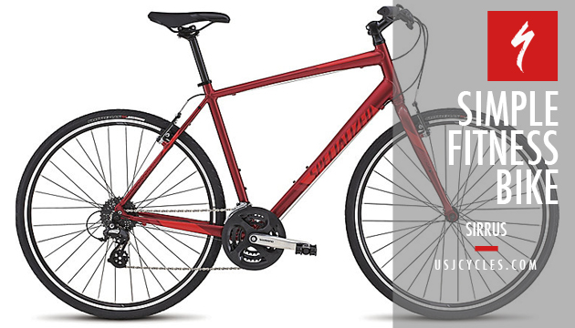 specialized-fitness-bike-sirrus-red