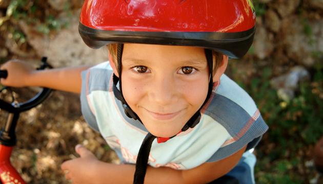 Kids Riding Bike