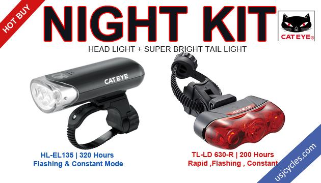 Cateye combo set - Night Kit