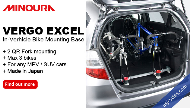 Minoura Vergo Excel - In verhicle bike mounting