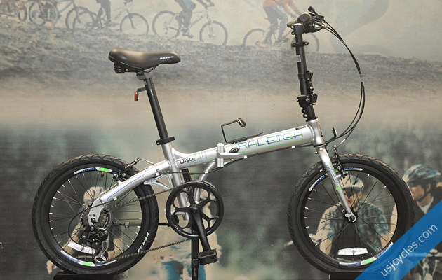 raleigh-ugo-folding-bike-silver-green
