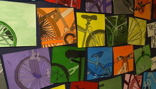 bicycle-art