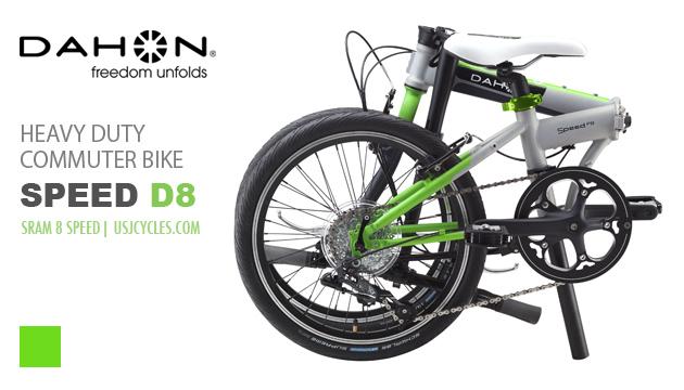 dahon-folding-bikes-speed-d8-green-fold