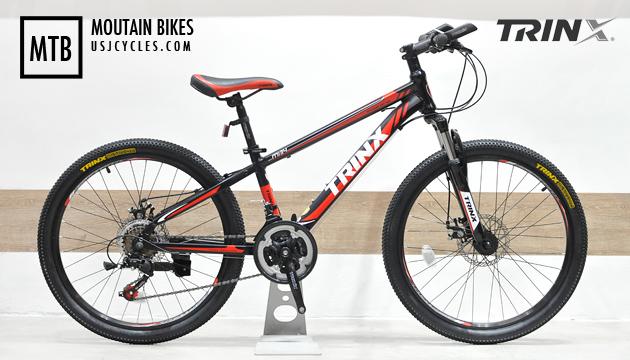 New 24 Quot Aluminum Mtb Trinx M134 Age 9 13 Usj Cycles