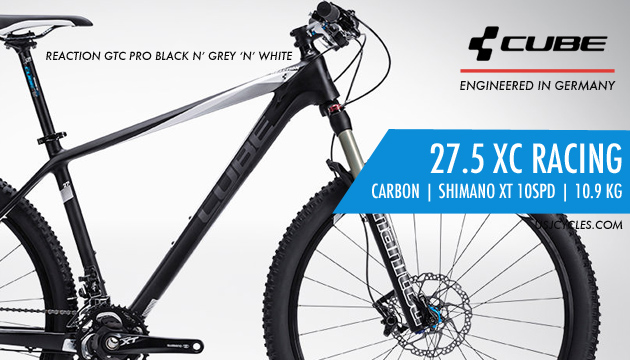 Made In Germany 2015 Cube Mtb Reaction Gtc Pro Carbon