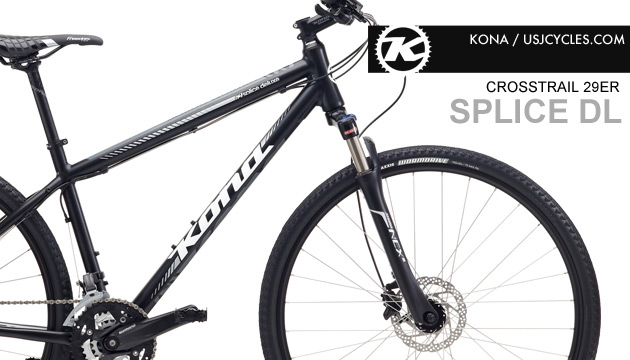 Crosstrail 2015 Kona Splice Deluxe Shimano 27 Speed
