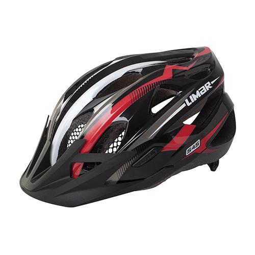 Limar-Helmet-545-Black-Red