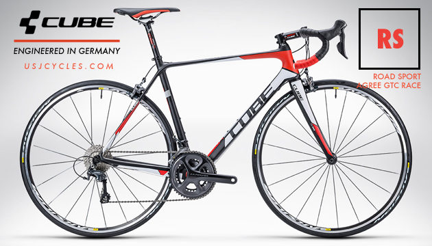 New Made In Germany 2015 Cube Road Bike Carbon Agree