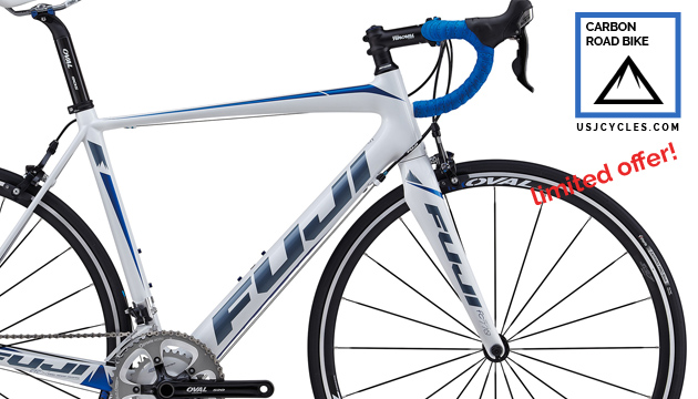 Best Deal Carbon Road Bike Fuji Altamira 2 5 Shimano 105 10s