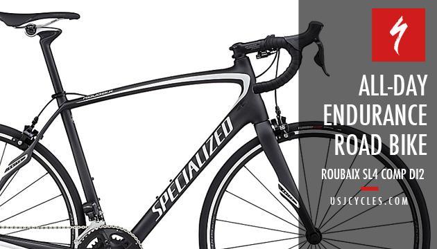 2017 Specialized 174 Roubaix Sl4 Comp Full Carbon Road Bike