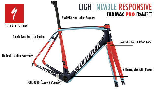 upgrade specialized tarmac pro frameset