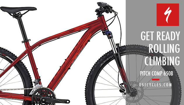 2016 Specialized Pitch Comp 650b Mtb Usj Cycles