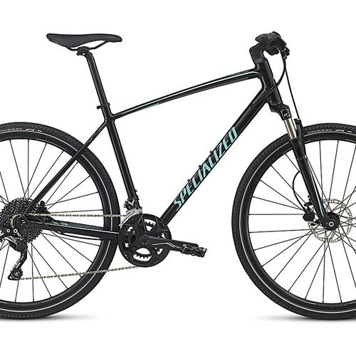 Specialized Crosstrail Elite Black Cyan