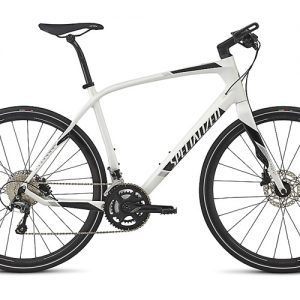 Specialized Sirrus Comp Carbon White