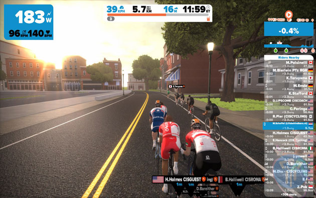 Everything about Zwift - Indoor Bike Training Game | USJ CYCLES