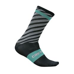 castelli-free-kit-13-socks-black-cyan
