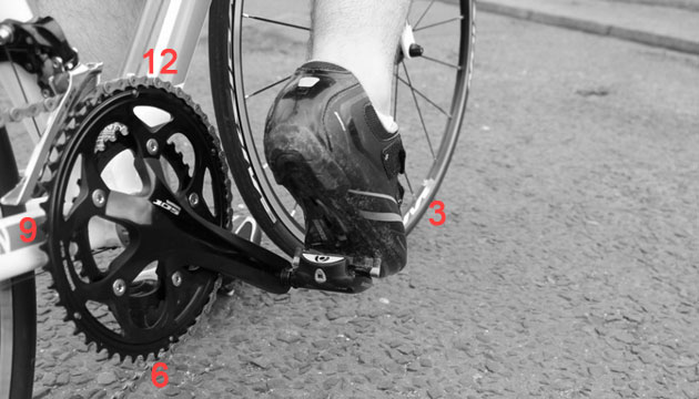 390974ca9ab When shoe has installed a cleat. You have to get a feel to engage the pedals  before you force downward to fully clip-in the pedal.